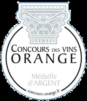 concours-des-vins-d-orange-medaille-d-argent-2013